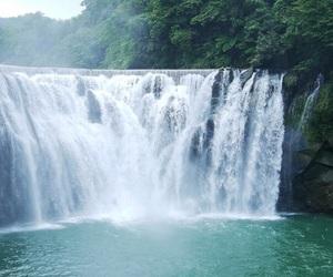waterfall, water, and beautiful image