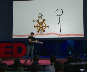 blog, ted talk, and procrastination image