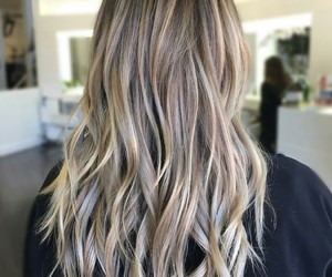 hairstyles, blonde, and girls image