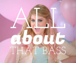 balloons, quotes, and all about that bass image