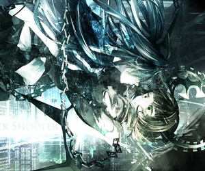 black rock shooter and dead master image