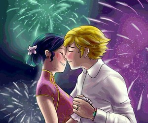 Adrien, firework, and happy new year image