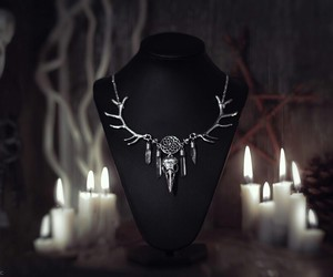 accessories, black, and dark image