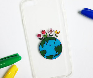 earth, planet, and iphone case image