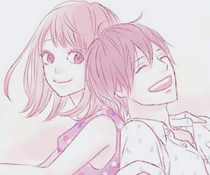 orange, anime, and couple image
