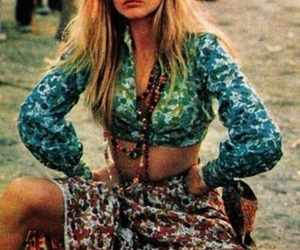 hippie, 60s, and peace image