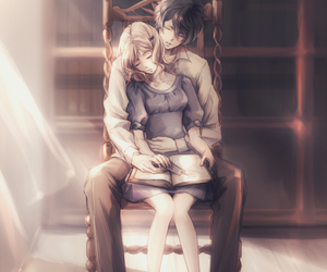 anime, diabolik lovers, and couple image