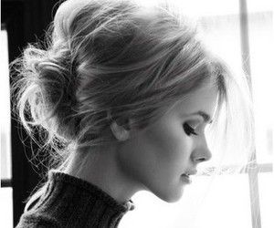 blonde, fashion, and make up image