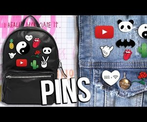 diy, pins, and youtube image
