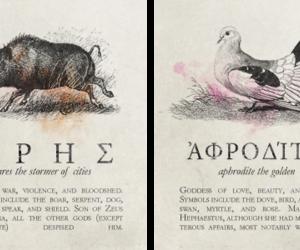 aphrodite, ares, and gods image