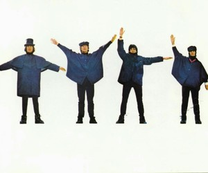 disco, the beatles, and help image