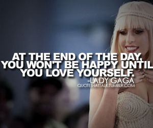 Lady gaga, quote, and lady image