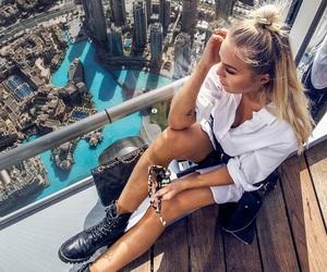 city, fashion, and girl image