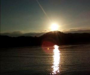lindo, agua, and cielo image