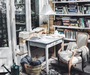 books, cosy, and home image