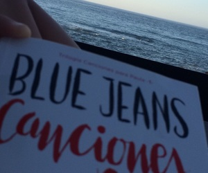 blue jeans, book, and se image