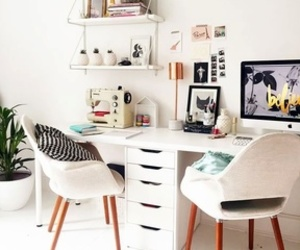 decoration, decor, and office image