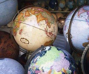 globe, world, and map image