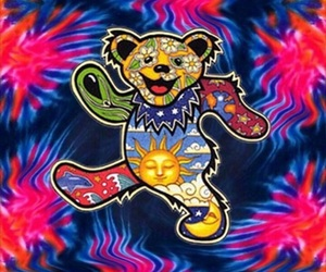 psychedelic, trippy, and grateful dead image