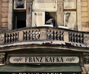 cafe and franz kafka image