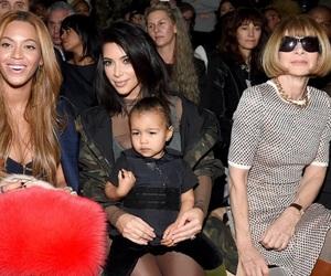beyoncé, north west, and kimkardashian image