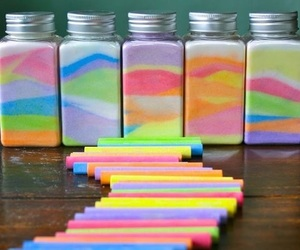 diy, chalk, and colors image