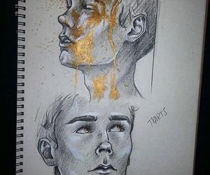 drawing, season 3, and skam image