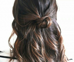 hair, cute, and si m ple image