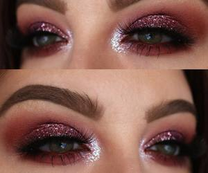 glam, glitter, and pink image