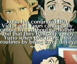 anime, yuri on ice, and anime facts image
