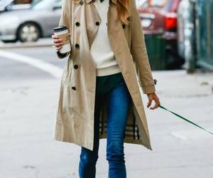 fashionable, outfits, and trench coats image