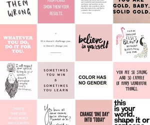 background, colours, and empowering image
