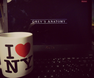 cup, film, and grey's anatomy image