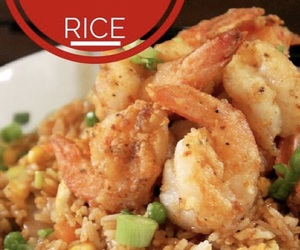 delicious, porn, and rice image