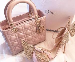 shoes, dior, and pink image