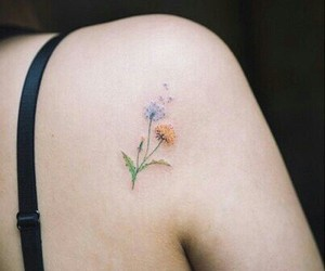 art, tattoo, and cute image