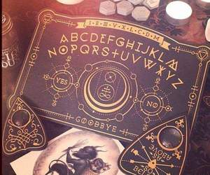 ouija, witch, and dark image