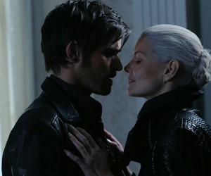 hook, once upon a time, and emma image
