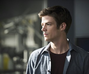 grant, the flash, and barry allen image