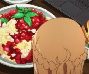 spaghetti, anime food, and sword art online image