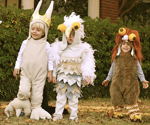 where the wild things are, costume, and Halloween image
