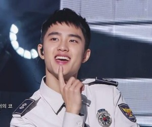 exo, d.o, and unfair image