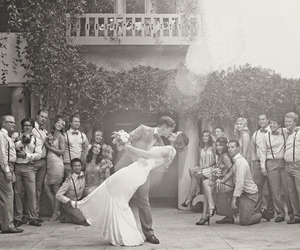 wedding, love, and black and white image