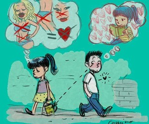 man and love image