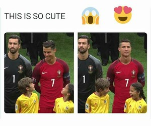 cute, football, and children image