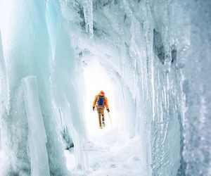 travel, adventure, and cold image