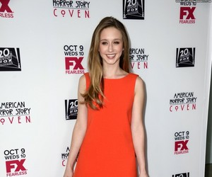 taissa farmiga, dress, and ahs image