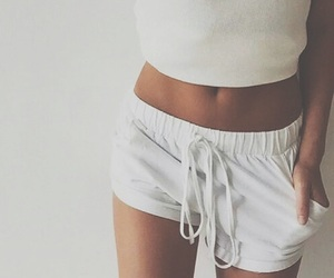 white, style, and body image