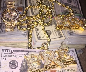 gold and money image
