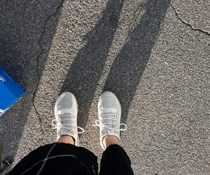 adidas, knit, and shadow image